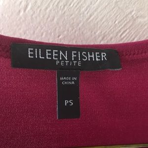 Eileen Fisher Dresses - Eileen Fisher burgundy dress